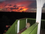 Panoramic Sunset View from Cottage