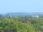 View of Scrub Island from Bedroom Balcony - Looking East