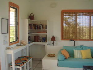 Country Cottage Anguilla Living Area