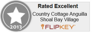 Rated Excellent on FlipKey.com 2013