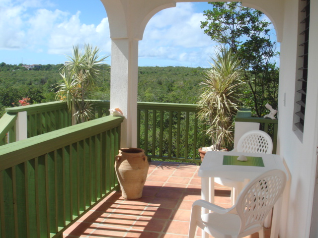 Country Cottage Anguilla Veranda